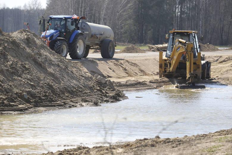 Droga Białystok - Łapy będzie gotowa dopiero pod koniec 2019 roku