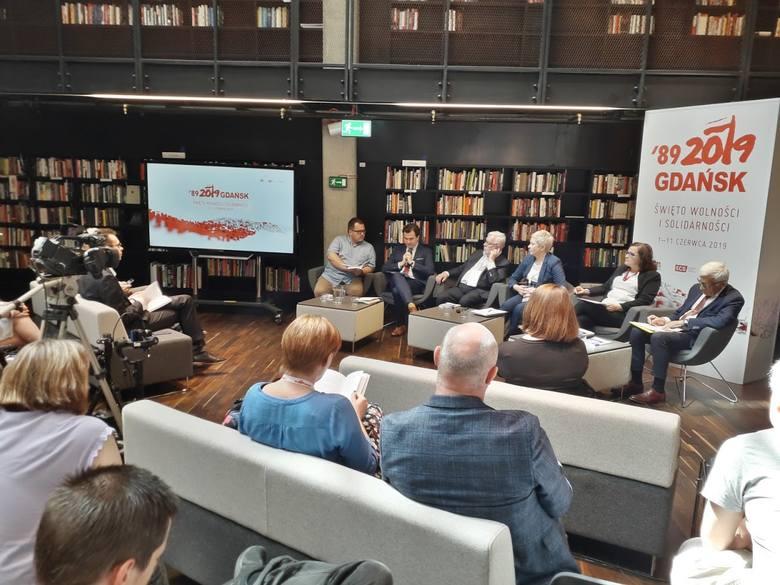 Pierwsza prezentacja raportu D. Sześciły podczas Święta<br /> Wolności i Solidarności w Gdańsku, 2 czerwca 2019