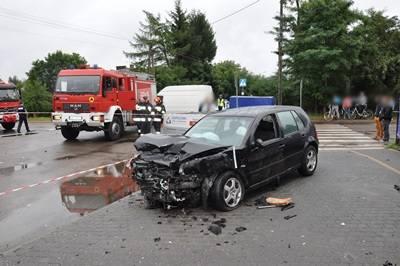 Wypadek w Bosewie Starym. Zginęła 21-letnia kobieta