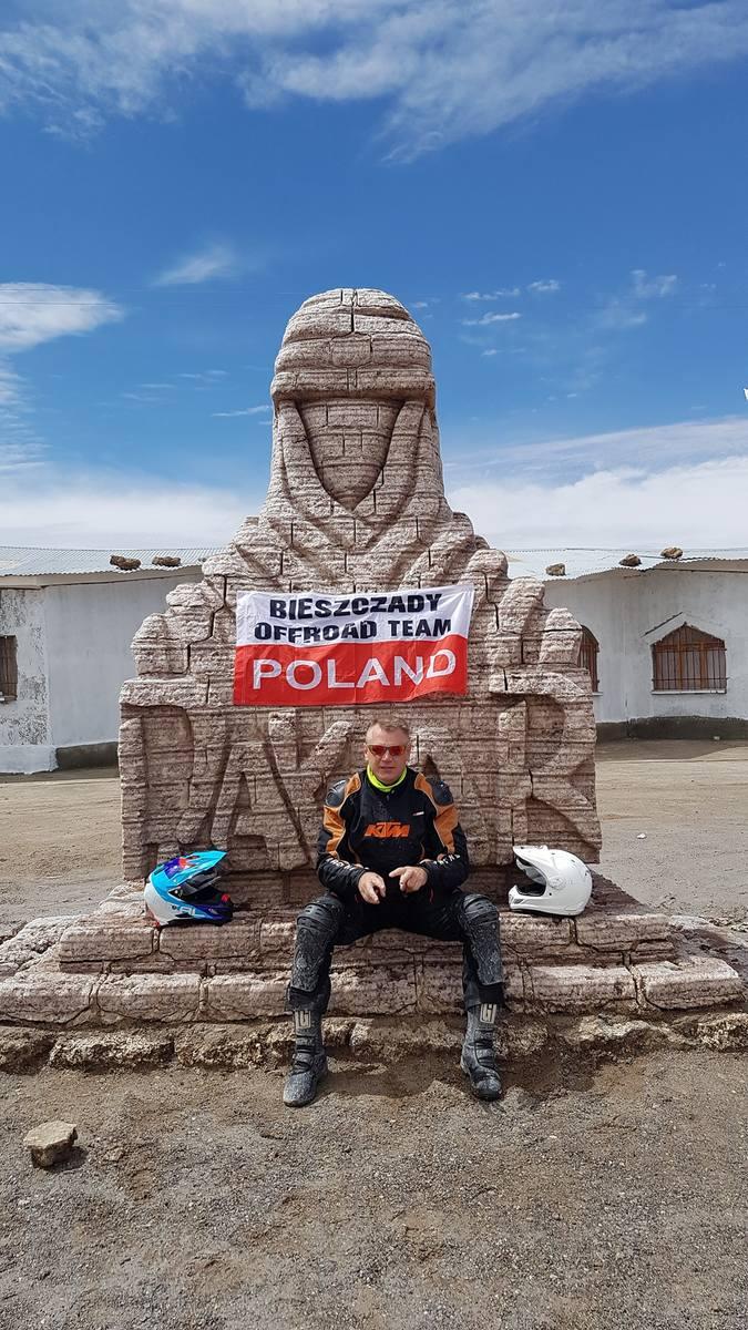 Bezdroża Ameryki Południowej to dla motocyklistów ogromne wyzwanie. Marek Zaniewicz zapragnął pokonywać karkołomne odcinki Dakaru.