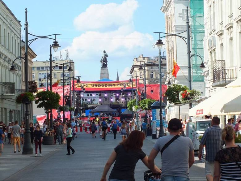 Urodziny Łodzi: koncertowo na placu Wolności i w Manufakturze