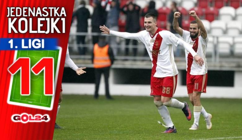 W miniony weekend błysnęli zawodnicy ŁKS, którzy sprawili tęgie lanie Odrze Opole. Skutecznością popisali się też gracze Stali Mielec, Rakowa Częstochowa
