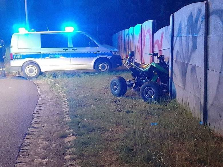 Była niedziela, około godziny 20.40, gdy do służb ratowniczych w Skwierzynie dotarło zgłoszenie o wypadku. Doszło do niego przy ul. Kolejowej. Okazało