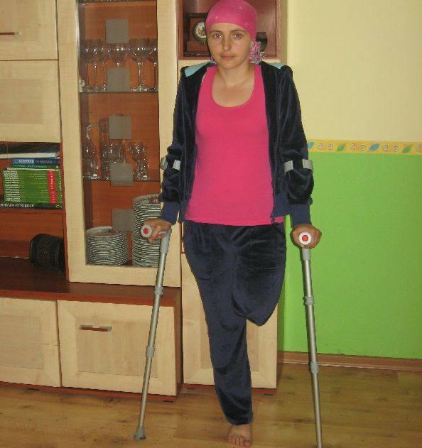Pani Joanna potrzebuje pomocy. Fundacja Miśka Zdziśka zbiera pieniądze na zakup protezy dla niej.