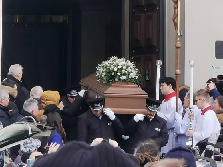Pogrzeb Romualda Lipki. Uroczystości żałobne w lubelskiej archikatedrze i na cmentarzu przy ul. Lipowej. Oglądaj transmisję i zdjęcia