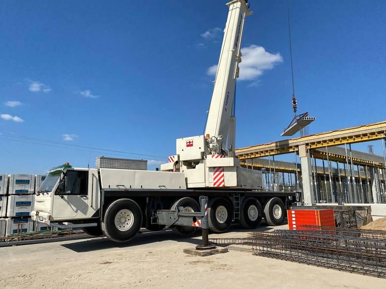 Do końca lipca w Świebodzinie ma być gotowa hala przemysłowa o pow. 6,5 tys. m kw.