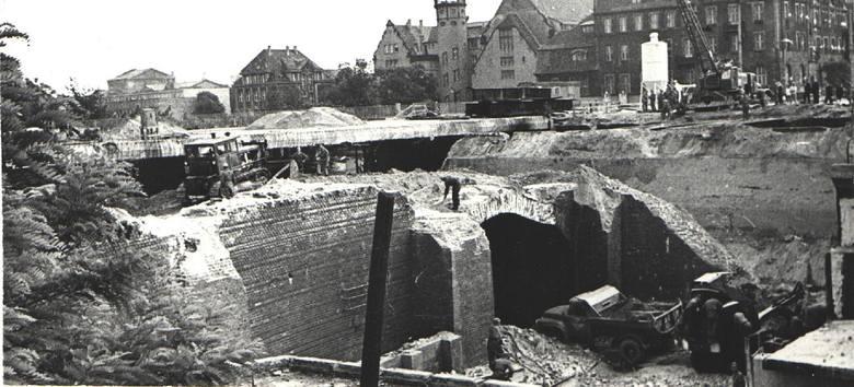 Tak poznańską Kaponierę budowano
