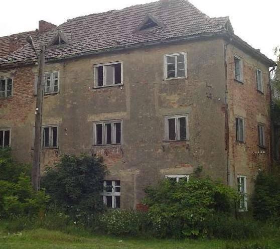 Niszczejący XVI wieczny pałac w Łące Prudnickiej niechcący odkrywa swoje tajemnice.
