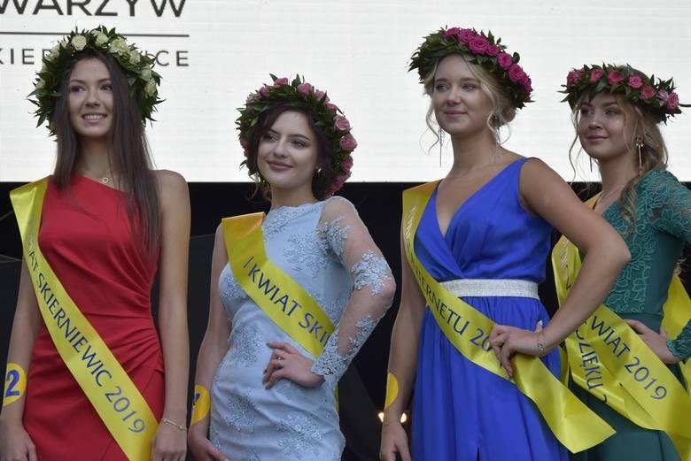 Tradycyjnie podczas Skierniewickiego Święta Kwiatów, Owoców i Warzyw odbywają się wybory Kwiatów Skierniewic, czyli wybory najpiękniejszych dziewcząt w mieście. Tak było i w tym roku.