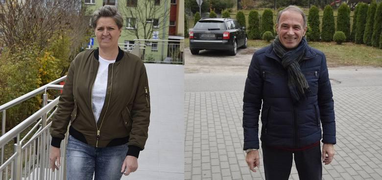 Danuta Karaśkiewicz i Jan Ponulak zagłosowali (wideo)