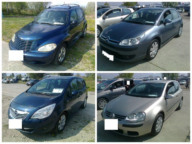 Samochody używane na giełdzie w Gorzowie.