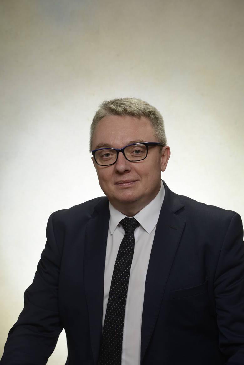 Burmistrz Miasta i Gminy Łagów Paweł Marwicki