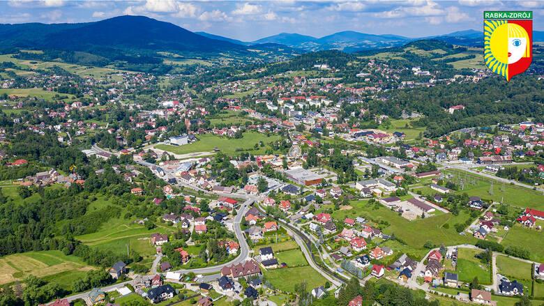 Rabka-Zdrój – miasto na cztery pory roku