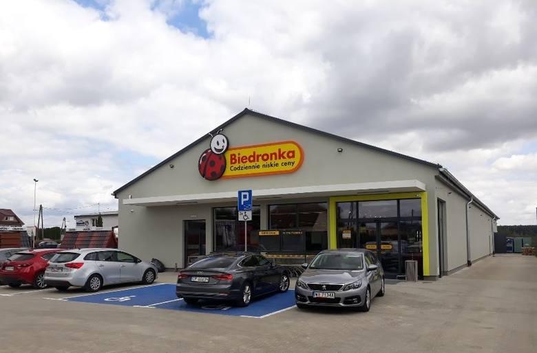 W sklepie zastosowano rozwiązania mające ograniczyć jego wpływ na środowisko.