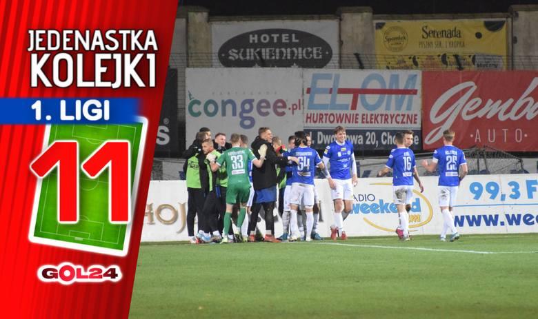 Zaległości odrobione. Jedenastka 18. kolejki Fortuna 1 Ligi według GOL24.pl!