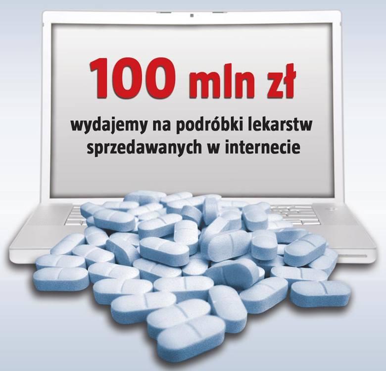 W internecie kwitnie handel nielegalnymi lekami