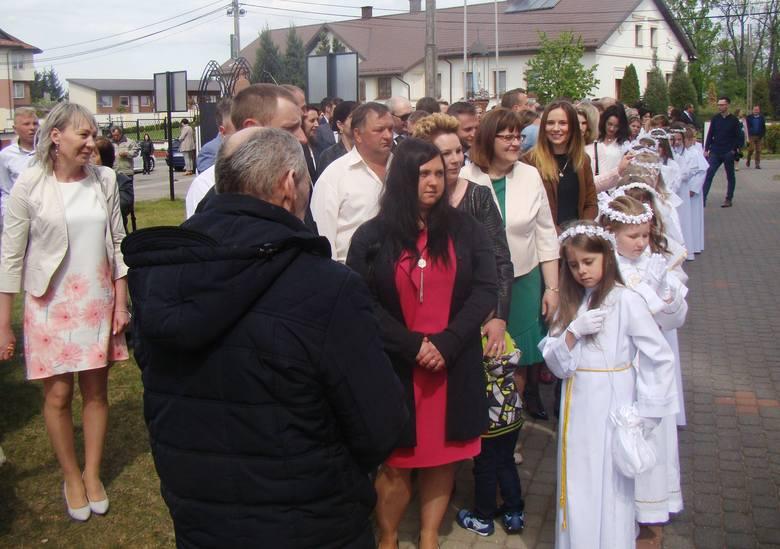 Komunia Święta w Myszyńcu 12.05.2019
