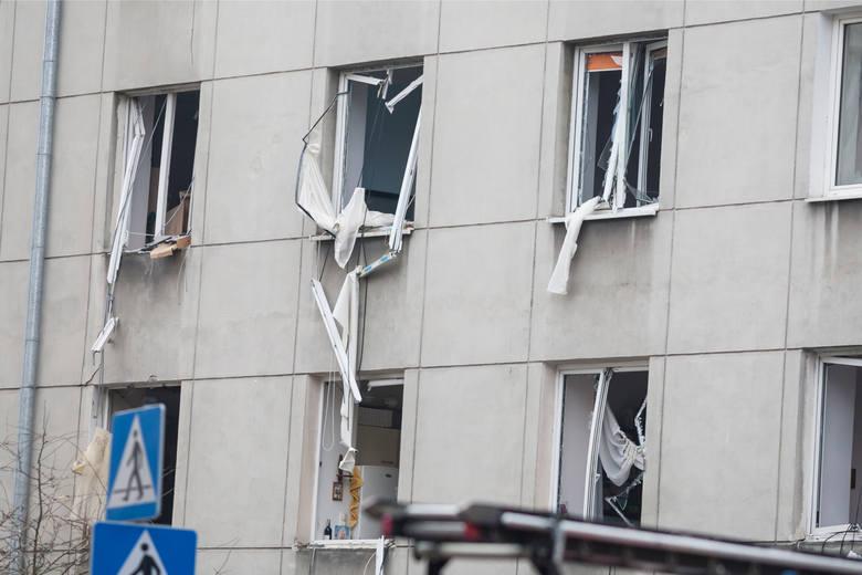 Wybuch gazu w kamienicy w centrum Warszawy