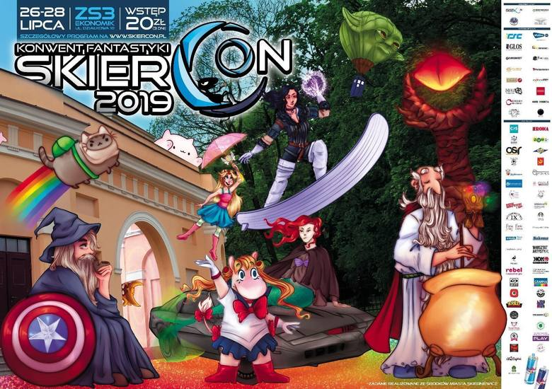 Lato w mieście: SkierCon, Dino Expo i koncert charytatywny
