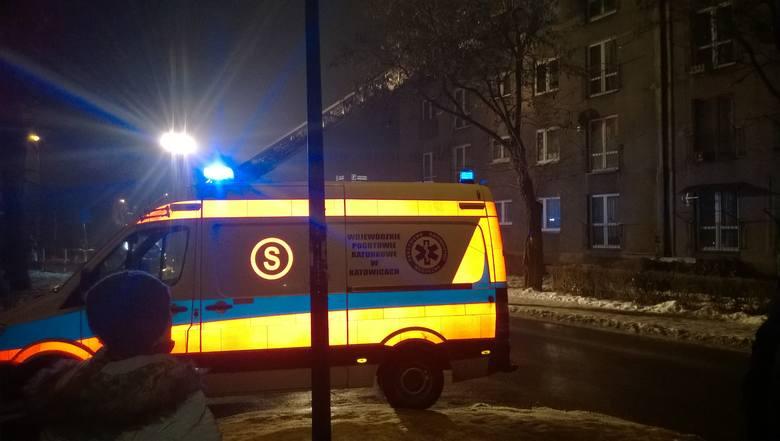 Płonęło mieszkanie na ulicy Lompy w Rybniku
