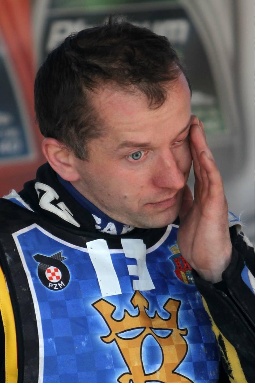 Stanisław Burza jeździł w Wandzie w 2012 r.
