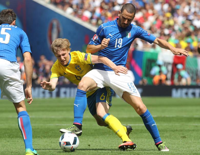 Włoska obrona najpierw wyłączyła z gry belgijskie gwiazdy, następnie Zlatana Ibrahimovicia. Najmocniejszym jej punktem był jak dotychczas Leonardo Bonucci.