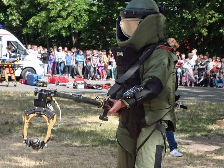 """Saper znalazł ładunek wybuchowy. To """"granat"""""""