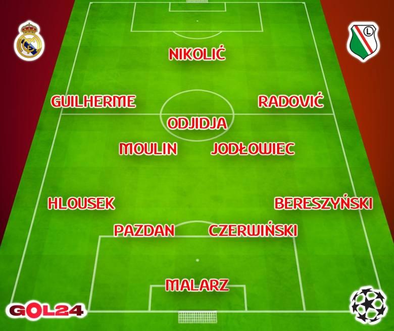 Mecz Real Madryt - Legia Warszawa ONLINE. Gdzie oglądać w telewizji? TRANSMISJA TV NA ŻYWO