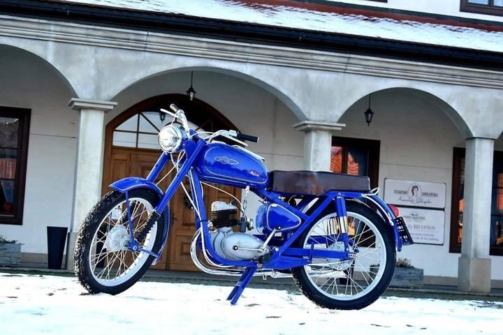 Motocykl WSK M06 - Jeżdżący zabytek z 1958 r.Koniec licytacji: czwartek, 4 lutego 2021, 21:12:00