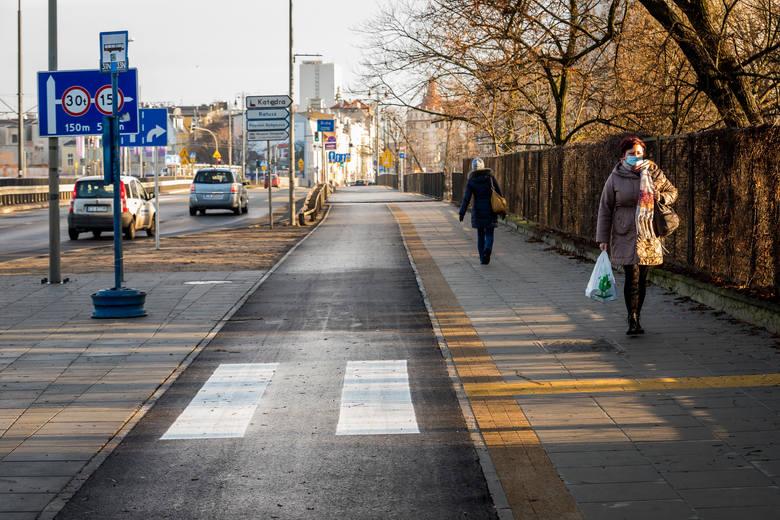 W tym roku powstały już trasy dla rowerzystów wokół pl. Poznańskiego, wzdłuż ul. Kruszwickiej oraz w Parku nad Starym Kanałem Bydgoskim.