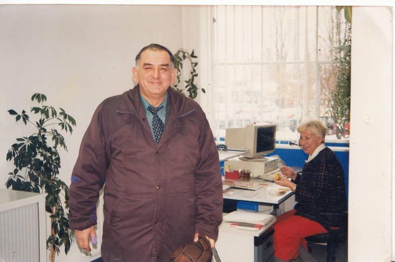 Dla Jana Klawińskiego zakład był wszystkim. Odwiedzał go więc nawet wtedy, gdy już był na emeryturze.