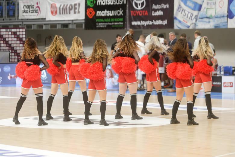 Zobacz jak tańczyły piękne cheerleaderki Startu Lublin podczas meczu ze Spójnią Stargard