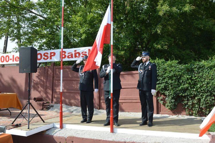 Uroczystości jubileuszu 100-lecia OSP w Babsku [ZDJĘCIA]