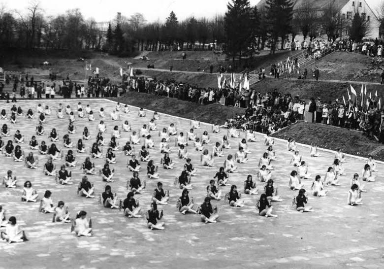 Pokaz gimnastyczny - 1974