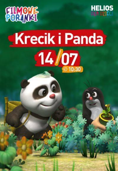 """W niedzielę kolejny Filmowy Poranek w bydgoskim """"Heliosie"""". Na dzieci czekają Panda i Krecik"""