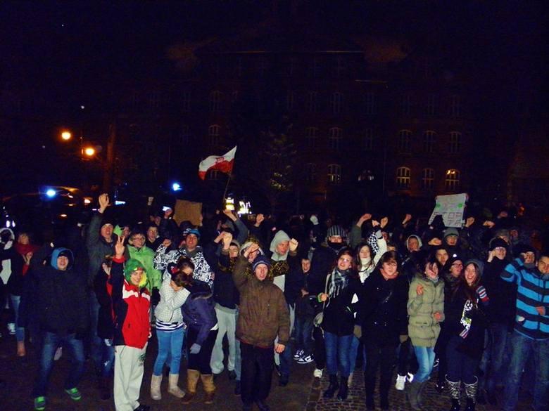 ACTA: Protest w Ełku. Zobacz [ZDJĘCIA]