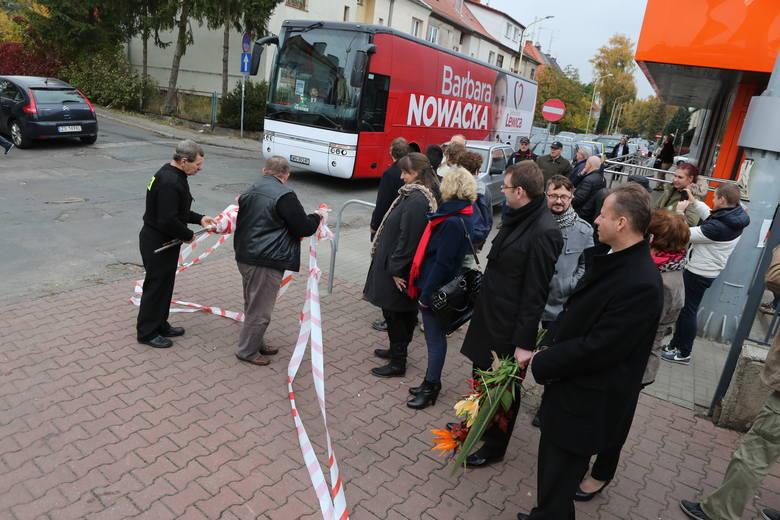 Barbara Nowacka odwiedziła ryneczek Pogodno [zdjęcia]
