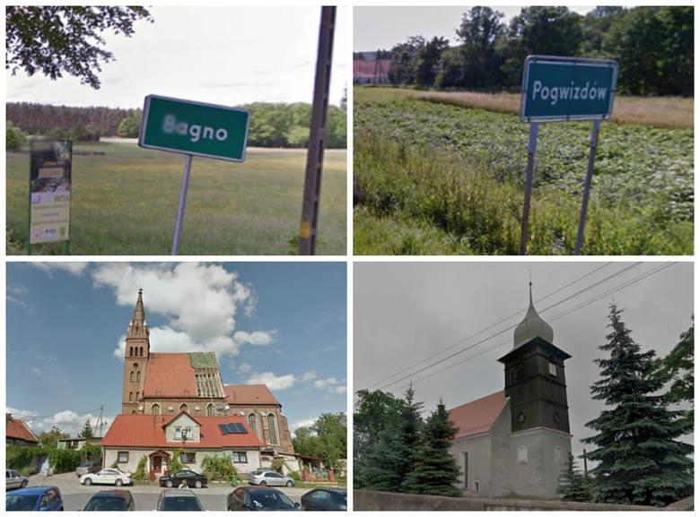 Zimna Wódka, Cyców, Tumidaj, Jęczydół, Koniec Świata Żabojady - to tylko niektóre z bardziej znanych w Polsce śmiesznych nazw wsi. Okazuje się, że również