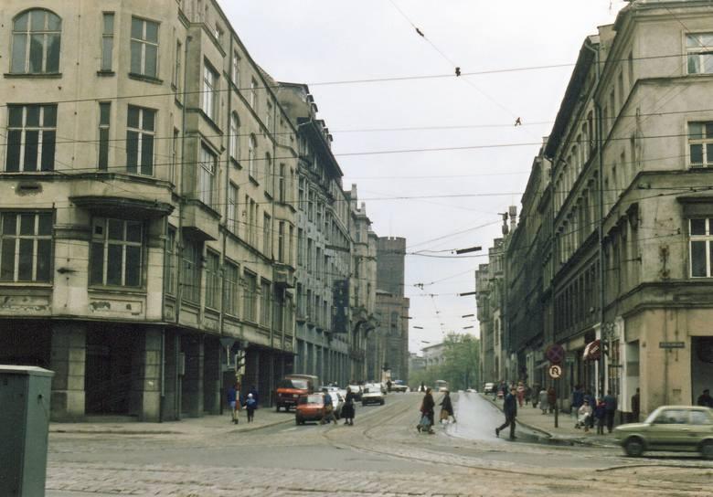 Rok 1991. Ulica Krupnicza