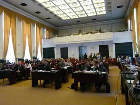 Trwa ostatnia przed wyborami sesja Rady Miejskiej w Łodzi.