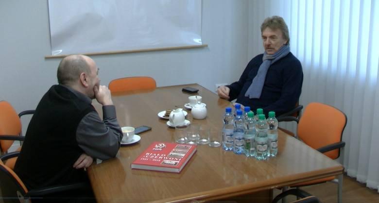 """Zbigniew Boniek, prezes Polskiego Związku Piłki Nożnej, pojawił się w siedzibie """"Gazety Pomorskiej"""". Jego wizytę wykorzystaliśmy do"""