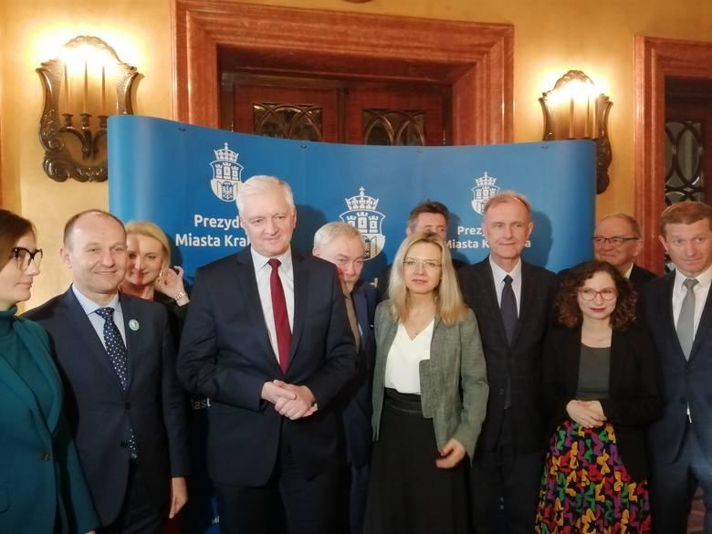 Kraków. Prezydent Jacek Majchrowski przedstawił parlamentarzystom oczekiwania dotyczące zmian prawnych