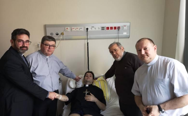 Warszawa, Dąbrówki Breńskie. Ks. Michał Łos spełnił swoje marzenie: odprawić mszę nim umrze [ZDJĘCIA]