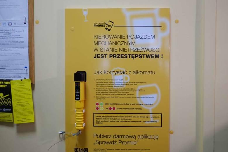 Bezpłatny alkomat w komisariacie
