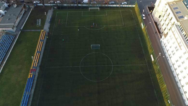 Stadion Klubu Sportowego Nadwiślan Kraków przy ul. Koletek 20