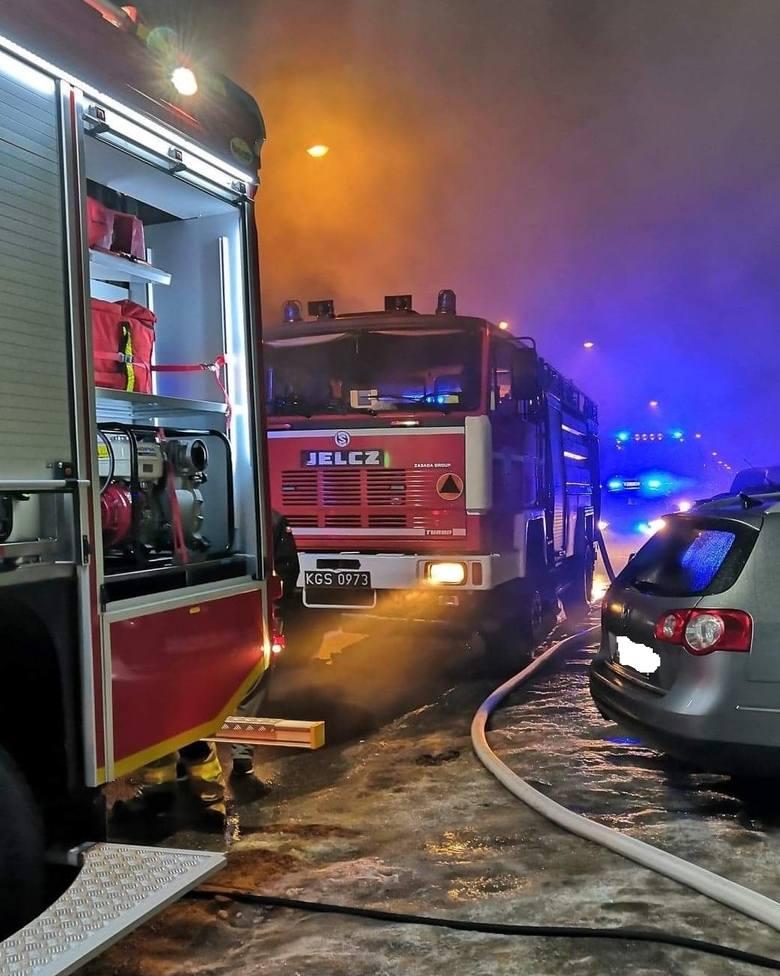 Do pożaru doszło w nocy ze środy na czwartek.