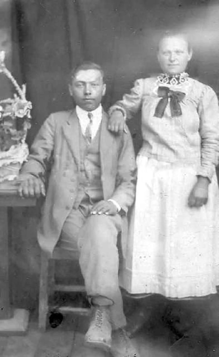 1928-1929 - szkolna pamiątka Pauliny Chabiniak