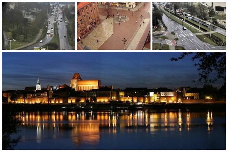 Nie wychodząc z domu, można zajrzeć na ulice Torunia! Oto obrazy z kamery online (live), które śledzą życie w mieście. Kamery na Toruń. 6 widoków z kamer