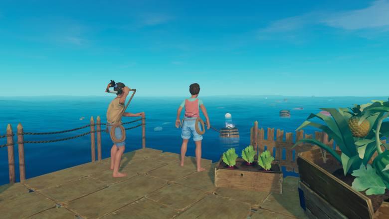 Bliżej nieokreślona katastrofa morska i my na środku oceanu. W RAFT gracze wcielają się w rozbitka, który budzi się na niewielkiej wyspie. Jego zadaniem
