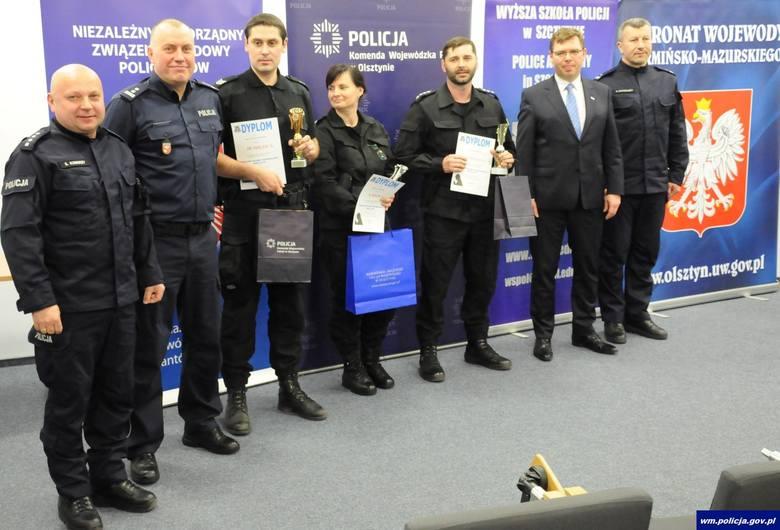 Najlepsi policjanci kryminalni z Nowego Miasta Lubawskiego